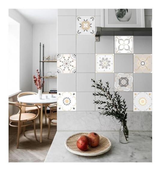 Vinilos Decorativos Azulejos Autoadhesivos Cocina,baño X9 Un