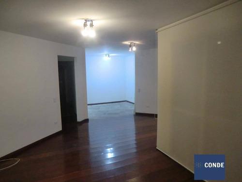 Imagem 1 de 15 de Apartamento Residencial À Venda, Moema Com 4 Quartos - 62030582 - 62030582