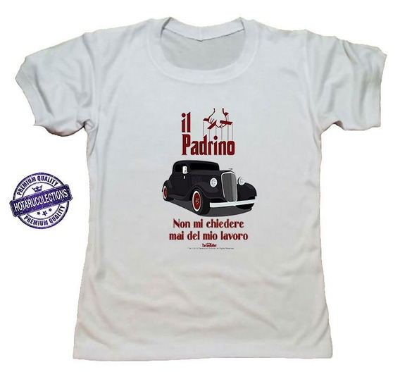 Remera El Padrino The Godfather Mod 4 Hotarucolections