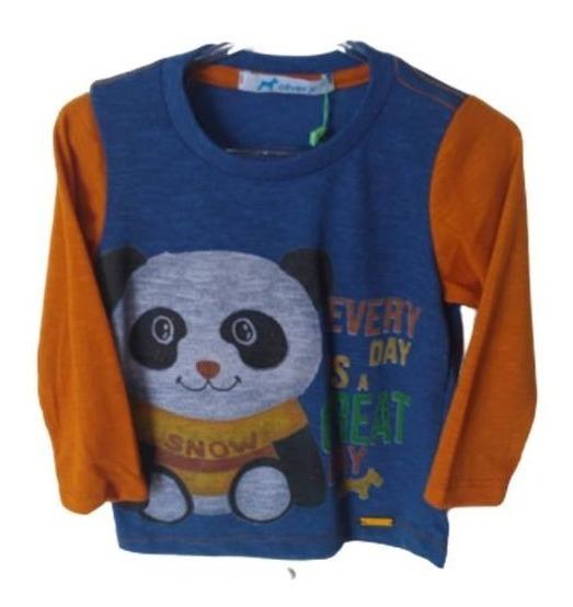 Blusa 2 Cores Panda