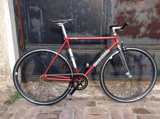 Bicicleta Pista Fixie Grafica Colnago Ofmega Velo