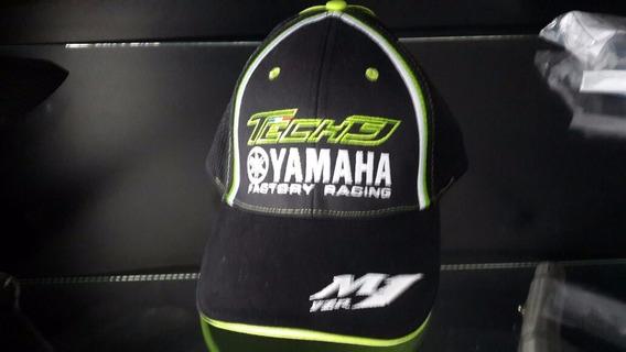 Boné Yamaha Factory Racing Tech 3 M1 Yzr