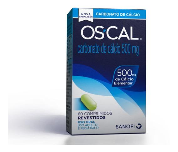 Os-cal Cálcio Vitamina D 500mg 60 Comprimidos Revestidos