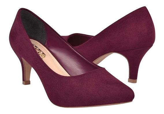 Zapatillas Para Dama Stylo 76801 Vino