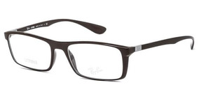 Ray-ban Glasses 7018 5204 Black Wayfarer Tamaño: 57 16(145 )
