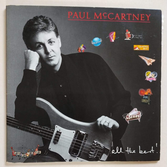 Lp Vinil - Paul Mccartney - All The Best!