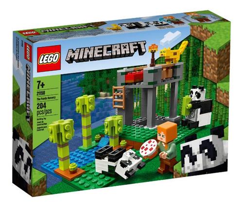Imagem 1 de 4 de Lego Minecraft - A Creche Dos Pandas - 21158 - Lego