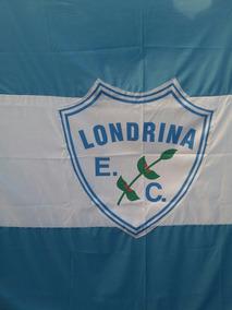 Bandeirão Do Londrina Esporte Clube - 1.50cm X 2.50cm