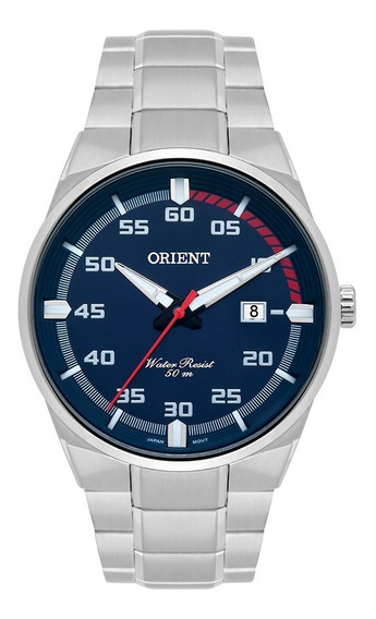 Relógio Orient Neo Sports Masculino Analógico Mbss1338 Prata