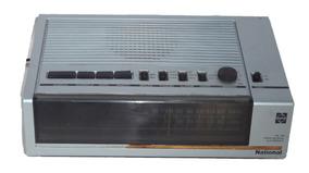 Rádio Relógio Eletrônico Am/fm National Venda No Estado