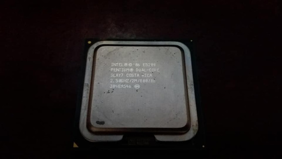 Processador Intel Pentium Dual Core E5200 2.50 Ghz 2m