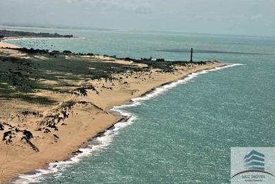 Área Em São Bento Do Norte Com 425m De Beira Mar