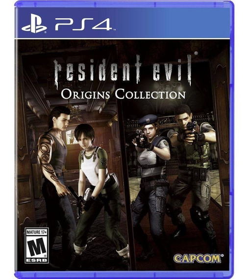 Resident Evil Origins Collection - Ps4 Mídia Física Lacrado