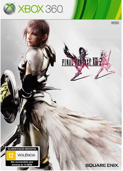 Jogo Final Fantasy Xiii 2 Xbox 360 Novo Lacrado Midia Fisica
