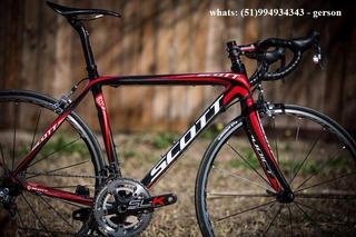 Bike Speed Scott Addict - Cr2 - Darf / Nf - R$ 12 E 8 Mi