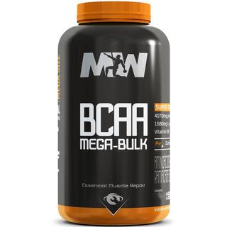 Bcaa Mega Bulk 1200mg 100 Tabs Mw Suplementos