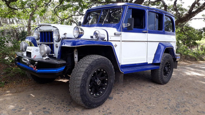 Jeep Willys Station Wagon Clasico
