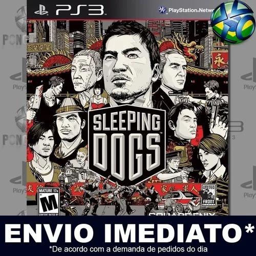 Sleeping Dogs Ps3 Mídia Digital