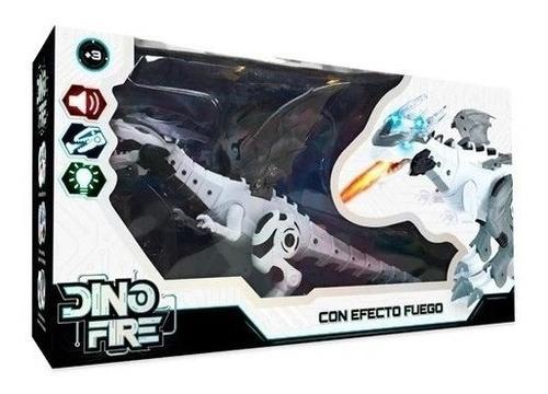Imagen 1 de 3 de Dragon Electronico Con Luz Y Sonido Con Efecto Fuego