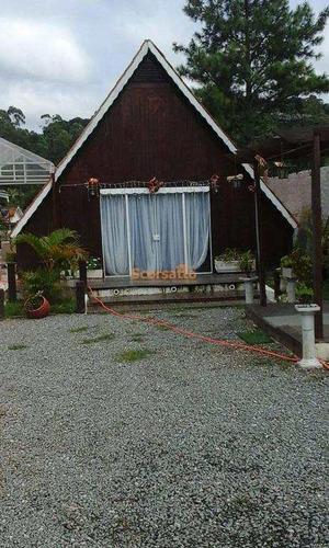 Chácara Com 4 Dorms, Potuverá, Itapecerica Da Serra - R$ 750 Mil, Cod: 2202 - V2202