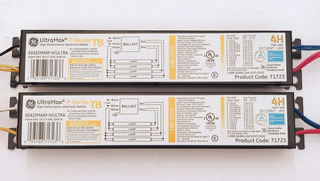 (2 Pack) Ge 71723 Ge432maxp H/ultra 4 Lamp Electronic Ballas