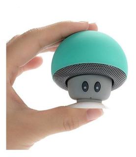 Parlante Portatil Bluetooth Diseño Honguito Mini Speaker