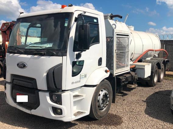 Caminhão Combinado Hidrojato Limpa Fossa Cargo 2423 2012