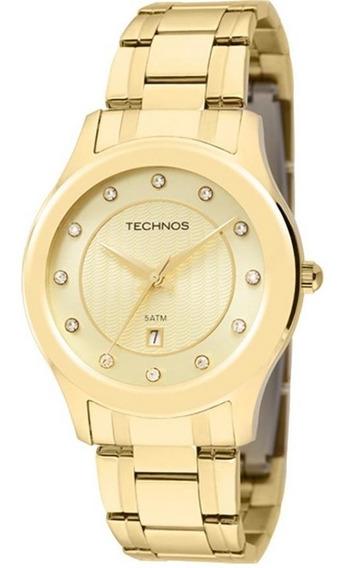 Relógio Technos Feminino Analógico Elegance 2015bzm/4x