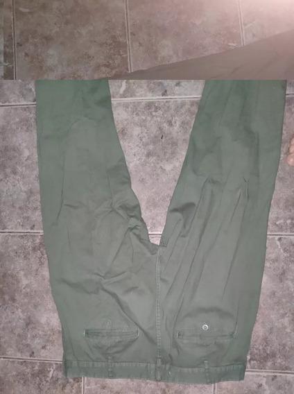 Pantalón Newport Talle 46 Verde Excelente Estado