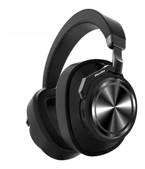 Fone Headphone Bluedio T6s Bluetooth 5.0 Sem Fio Ans Preto