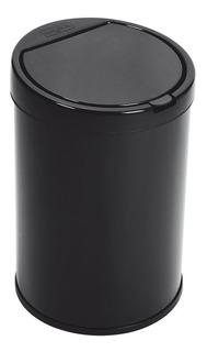 Lixeira 5,5 Litros Aço Pintado Com Balde Tampa Click Purimax