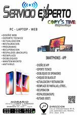 Servicio Técnico, Liberación De Teléfonos Y Tablets.