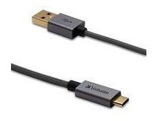 Verbatim Vb99675 Cable Usb-c A Usb-a Negro 1.2m Trenzado