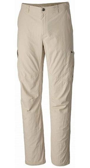 Pantalon Columbia Silver Ridge Cargo Hombre Secado Rapido