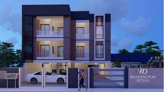 Apartamento Com 2 Dormitórios À Venda, 54 M² Por R$ 148.500,00 - Pérola Do Atlântico - Itapoá/sc - Ap0615