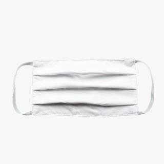 Máscara Protetora Retangular Branca - Kit Com 20