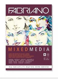 Block Mixed Media 40h 21x29.7cm G250 Con Envío 19100381