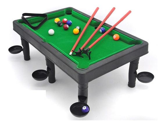Mesa De Bilhar Infantil Sinuca Snooker Portatil Desmontavel