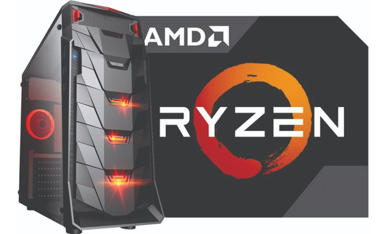 Pc Amd Ryzen 5 2600 Mb B350m Ram 8gb Hd 1tb Gtx1650 500w