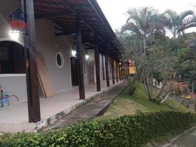 Chácara Residencial À Venda, São Vicente, Mairiporã. - Ch0138