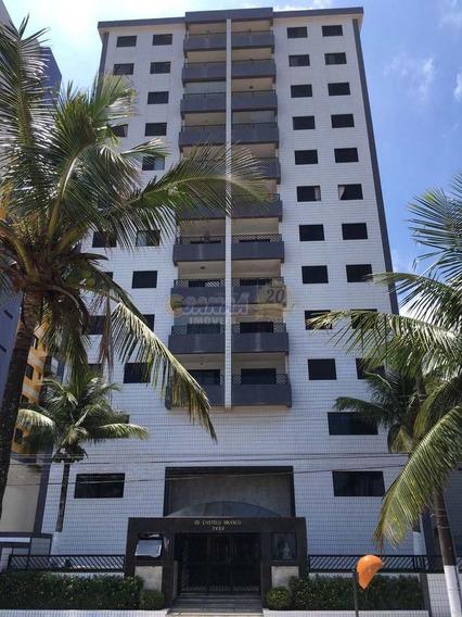Apartamento Em Mongaguá Centro Só R$ 230 Mil - V7531