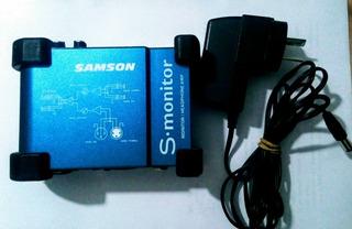 Monitor De Auriculares Samson S-monitor