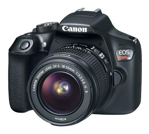 Canon Eos Rebel Eos T6 18-55+75-300bo