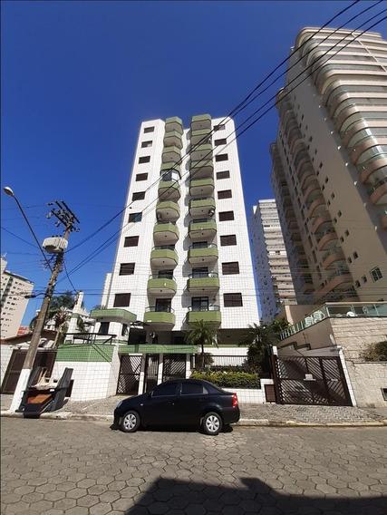 Apartamento Com 1 Dormitório Para Alugar, 50 M² Por R$ 1.100/mês - Campo Da Aviação - Praia Grande/sp - Ap0176