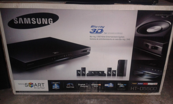 Samsung Ht D5500 Blu-ray Home Theater System 180 Vds