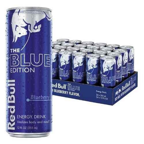 Red Bull Blue Edition Bebida Energetica 24 Pack Envio Gratis