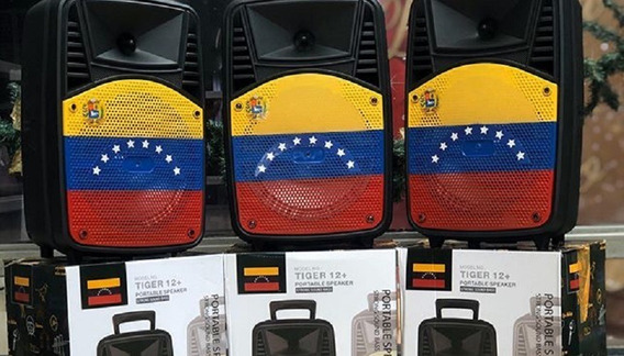Corneta Amplificada Tiger 12+ Venezuela - Bluetooth - 40vds