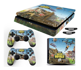 Adesivo Skin Playstation 4 Slim Fortnite