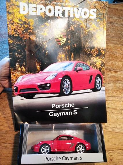 Auto Colección Deportivos De Leyenda (porsche Cayman S)