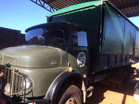 Caminhão Mercedez Militar Reliquia Mb 1113 Otimo Estado